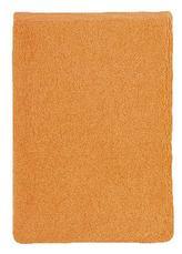 Froté žínka - oranžová - 17x25 cm