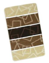 AVANGARD 60x100 cm - hnědé čtverce