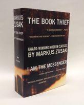 The Book Thief. I Am the Messenger, 2 Vols.. Die Bücherdiebin, englische Ausgabe; Der Joker, englische Ausgabe