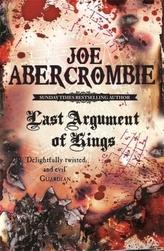 Last Argument of Kings. Königsklingen, englische Ausgabe