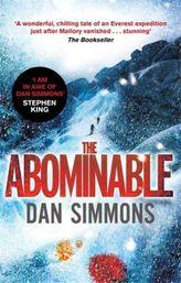 The Abominable. Der Berg, englische Ausgabe