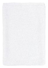 Froté žínka - bílá - 17x25 cm