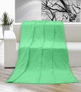 Přikrývka KORALL MICRO 200x230 cm - zelená