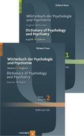 Wörterbuch der Psychologie und Psychiatrie / Dictionary of Psychology and Psychiatry, 2 Bde.