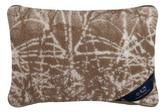 polštářek hnědý - polštářek příroda - 40x60 cm