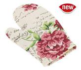 Kuchyňská chňapka - květinový dopis - chňapka 28x18 cm