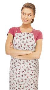 Kuchyňská zástěra IVO - korunová růžička - zástěra 67x84 cm