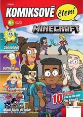 Komiksové čtení Minecraft