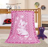 NELA dětská deka - kočička - 100x140 cm