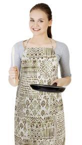 Kuchyňská zástěra IVO - indiánský motiv - zástěra 67x84 cm