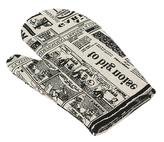 Kuchyňská chňapka - noviny - chňapka 28x18 cm