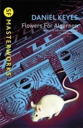 Flowers for Algernon. Blumen für Algernon, englische Ausgabe