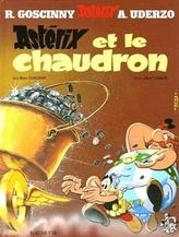 Asterix - Asterix et le chaudron. Asterix und der Kupferkessel, französische Ausgabe