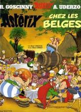 Asterix - Asterix chez les Belges. Asterix bei den Belgiern, französische Ausgabe
