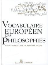 Vocabulaire Europeen Des Philosophies