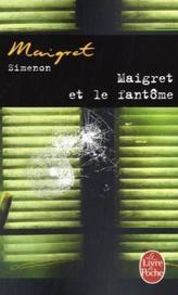 Maigret et le fantôme. Maigret und das Gespenst, französische Ausgabe