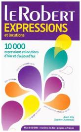 Le Robert Expressions et Locutions