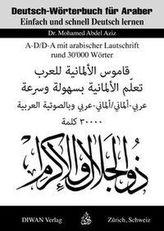 Deutsch-Wörterbuch für Araber, Arabisch-Deutsch/Deutsch-Arabisch