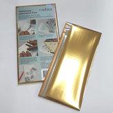 Cadence metalické fólie - zlatá, stříbrná, měděná mix 3 ks