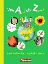 Von Adler bis Zwiebel - Sachlexikon für Grundschulkinder