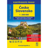 Česko/Slovensko - autoatlas/1:200 000