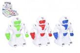 Robot na setrvačník 12 cm plast 3 barvy