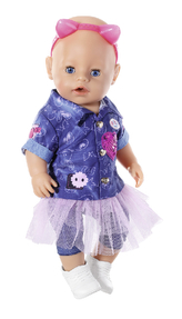 BABY born Džínová souprava, 43 cm