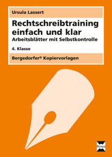 Rechtschreibtraining einfach und klar - 4. Klasse