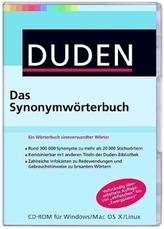 Duden - Das Synonymwörterbuch, 1 CD-ROM