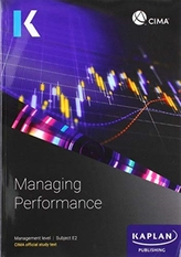 E2 MANAGING PERFORMANCE - STUDY TEXT
