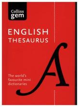 Collins English Thesaurus A-Z in Colour