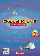 8. Schuljahr, Das Arbeitsheft A m. CD-ROM