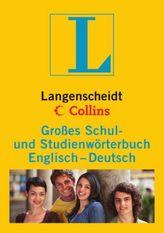 Langenscheidt Collins Großes Schul- und Studienwörterbuch Englisch-Deutsch