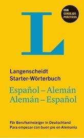 Langenscheidt Starter-Wörterbuch Español-Alemán