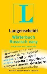 Langenscheidt Wörterbuch Russisch easy
