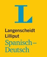 Langenscheidt Lilliput Spanisch-Deutsch