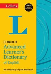 Collins Cobuild Advanced Learner's Dictionary of English - Buch mit Online-Anbindung