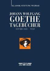 1819-1820, Text und Kommentar, 2 Bde. .