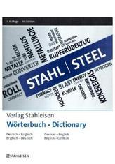 Stahl Wörterbuch. Steel Dictionary