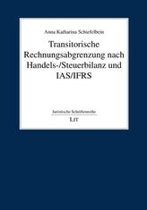 Transitorische Rechnungsabgrenzung nach Handels-/Steuerbilanz und IAS/IFRS