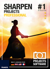 Sharpen projects professional, CD-ROM