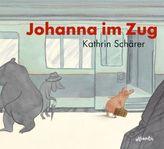 Johanna im Zug