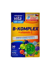 Maxivita B komplex + vitamín C 30 tablet