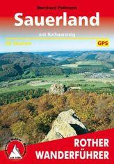 Rother Wanderführer Sauerland mit Rothaarsteig