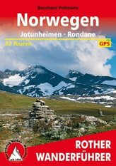 Rother Wanderführer Norwegen: Jotunheimen - Rondane