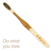 """Mobake Motivační bambusový kartáček - \""""Do what...\"""" (medium)"""