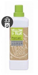 Yellow&Blue Prací gel na funkční textil (1 l) - bio, s přídavkem stříbra
