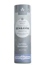 Ben & Anna Tuhý deodorant Sensitive BIO (60 g) - Horský vánek