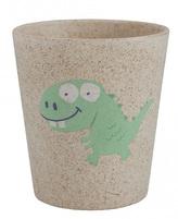 Jack n\' Jill Dětský kelímek Dino - z bambusu a rýžových zrn