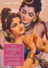 Das Orakel der indischen Götter, Orakelkarten m. Anleitungsbuch